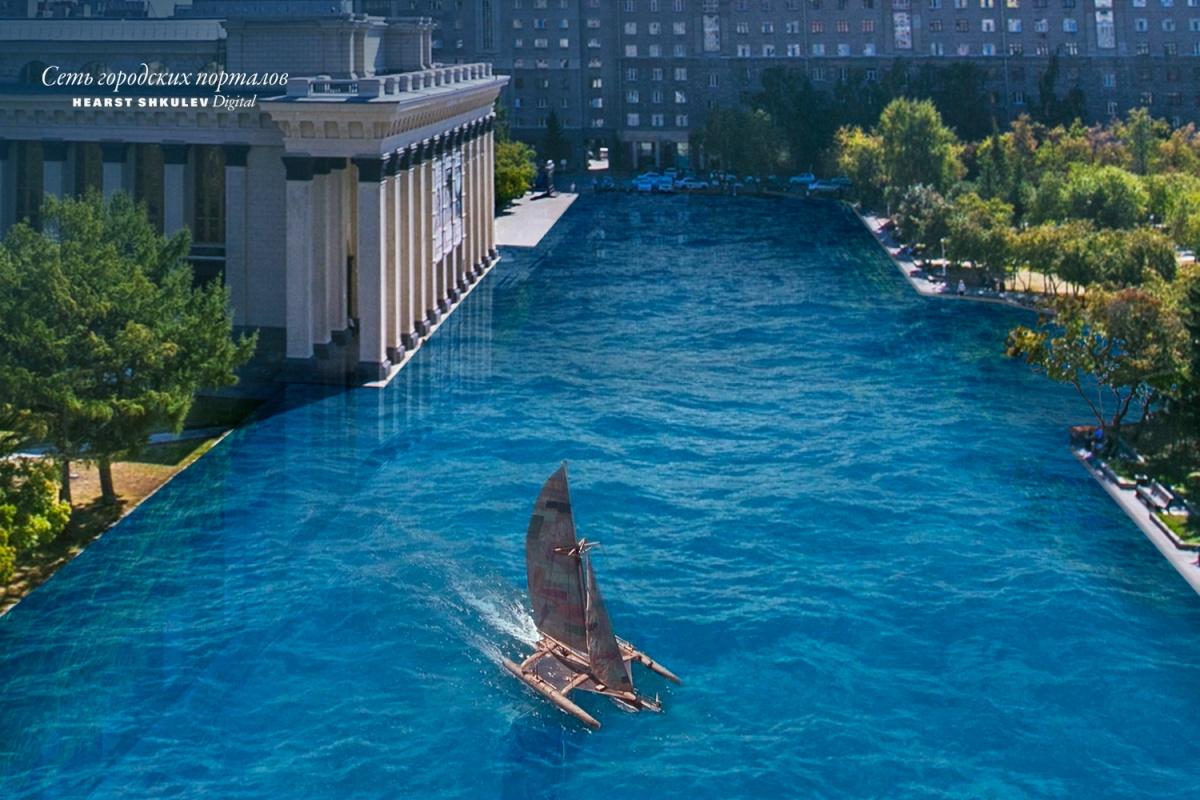 Новосибирцы могли бы плавать в оперный, а не ходить в него