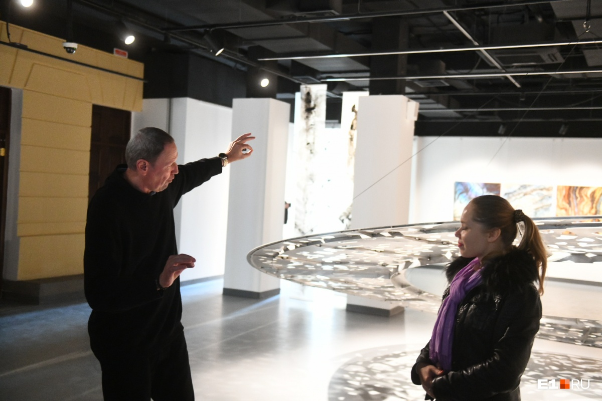 Швейцарский художник Бернар Гаро представил свою выставку