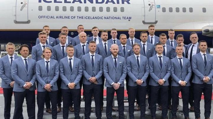 Прибывшая в Волгоград сборная Исландии настроилась на матч и испытания мошкой