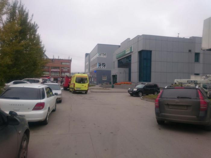 Эвакуировать людей из Сбербанка не пришлось