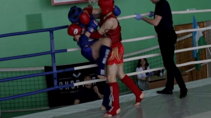 Тайский бокс по-башкирски: в Уфе прошли открытые соревнования