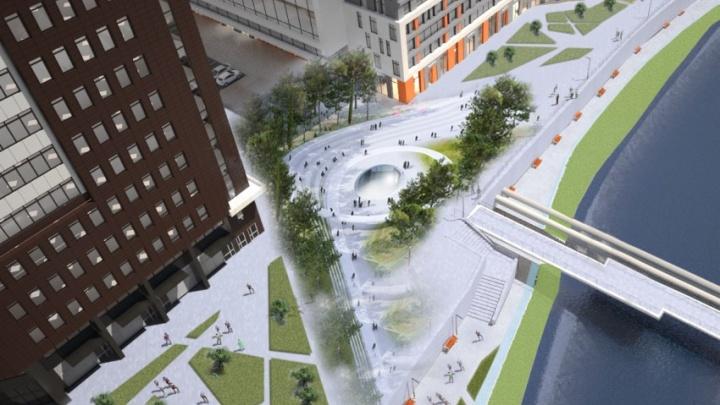 Архитекторы предложили построить школу нового поколения на набережной Исети