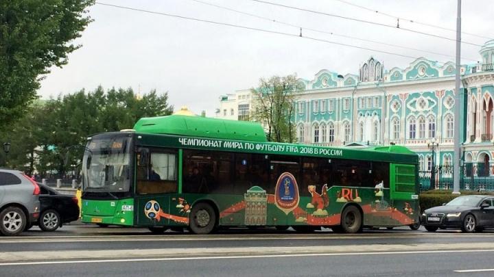 С 14 июня в Екатеринбурге будут ходить бесплатные автобусы и трамваи для болельщиков