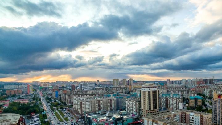 С понедельника в Красноярск возвращаются дожди