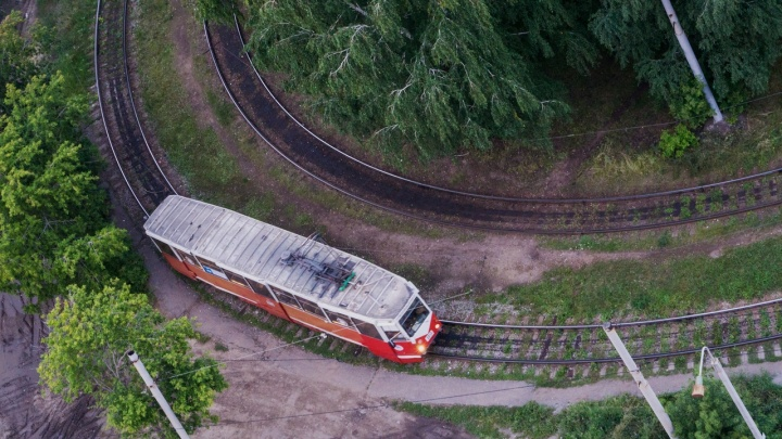 По Омску на трамвае: туристический маршрут по железным путям от кольца до кольца