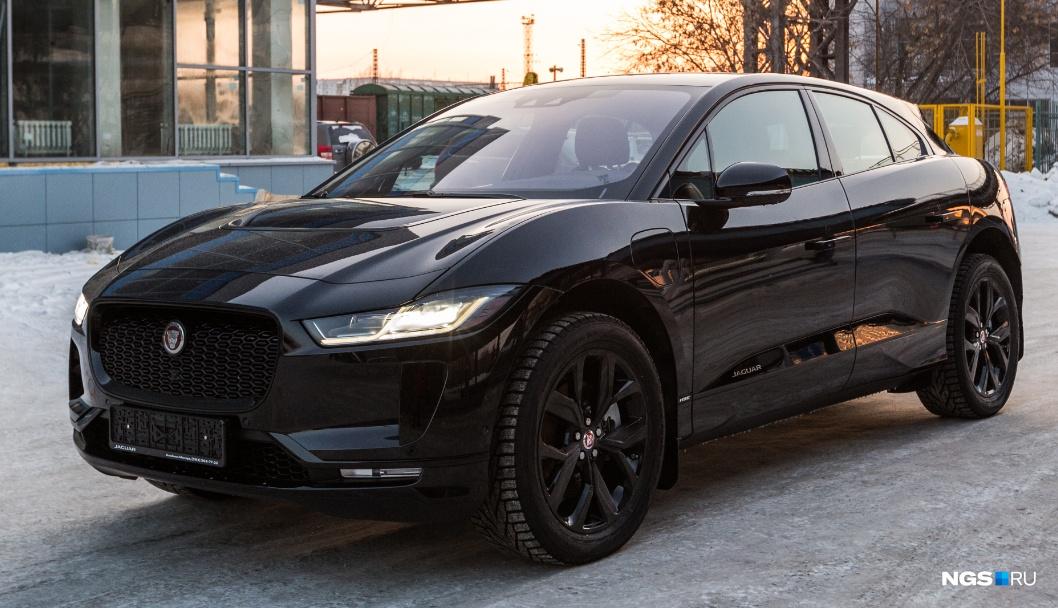 Jaguar I-Pace весит 2,2 тонны