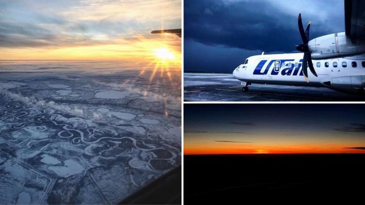 Как выглядит Тюмень из кабины пилота: 15 невероятных кадров, снятых лётчиком гражданской авиации