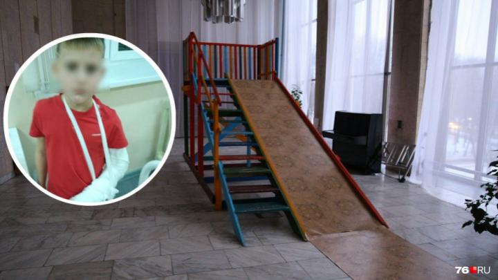 Ярославна пытается отсудить 300 тысяч за то, что её сын сломал руку на горке