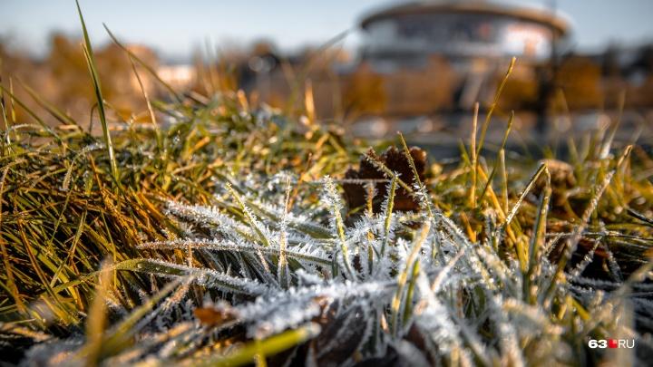 Готовьте зимний гардероб: на выходных в Самарской области ожидают заморозки
