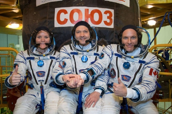 Перед запуском космонавты были настроены оптимистично, и всё получилось