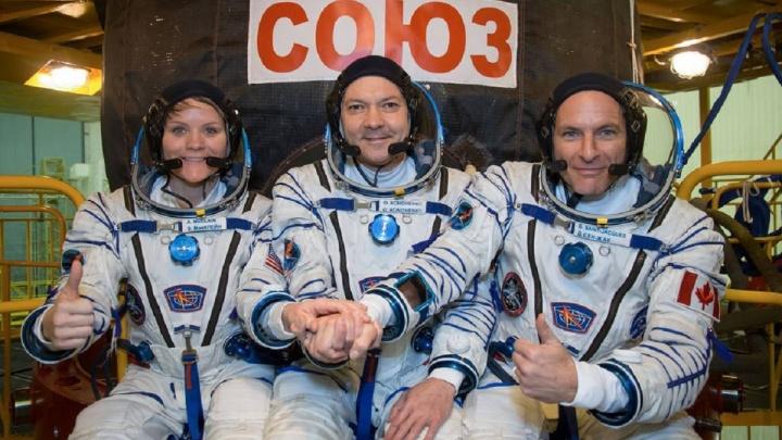 Корабль «Союз МС-11»с самарским космонавтом на борту пристыковался к МКС