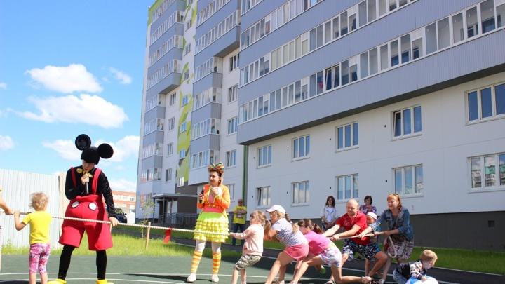 Праздник для новоселов: в ЖК «Белые Росы» с размахом отметили день двора