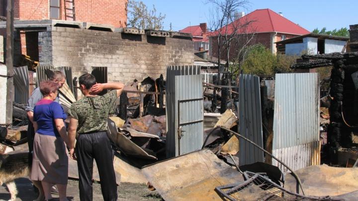 В Мишкинском районе мужчина погиб в пожаре