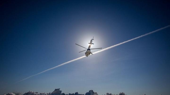 Пилот из Новосибирска разбил вертолёт и получил штраф в 100 тысяч