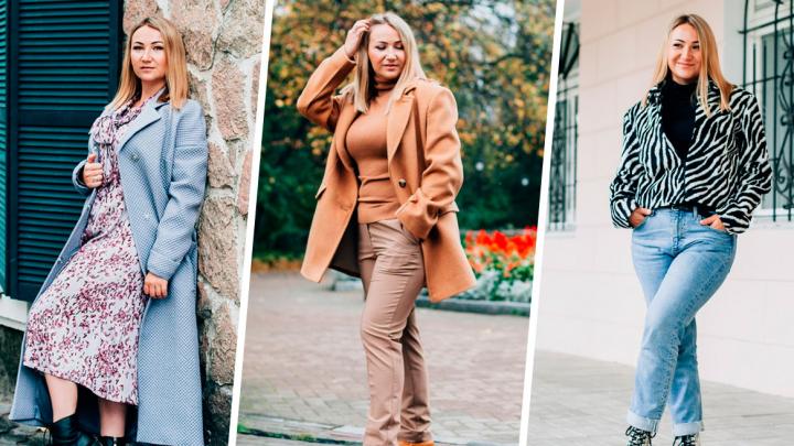 Не бойтесь носить платье с брюками, «зебру» и «питона»: 10 модных образов осени — 2019