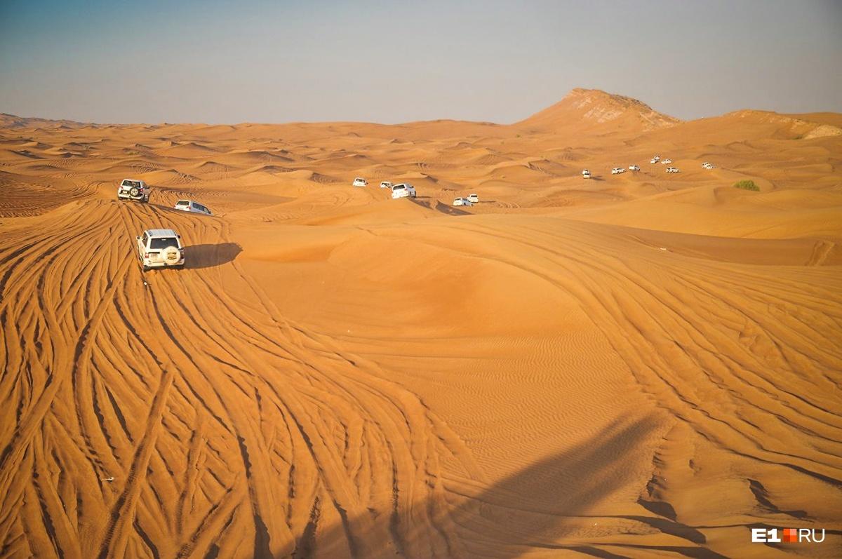 В Дубае можно не только погреться, но и хорошенько прожариться: температура даже в сентябре запрыгивает на отметку +40 °С