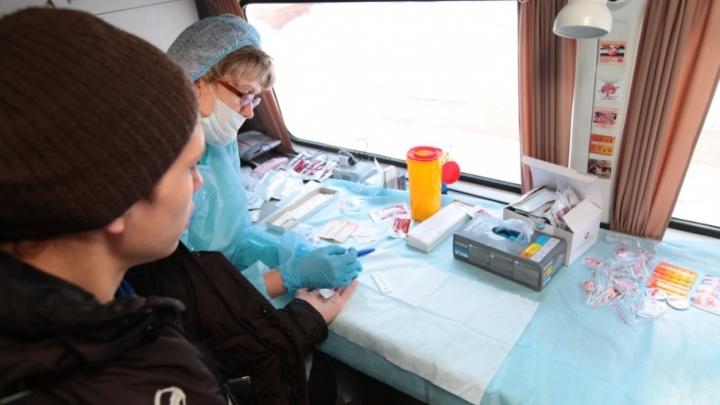 В Курганской области с начала года 922 человека заболели ВИЧ