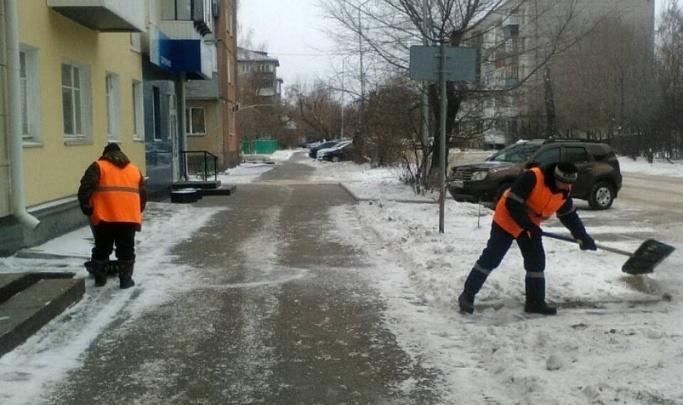 Глава Кургана остался недоволен качеством уборки дворов в новогодние праздники