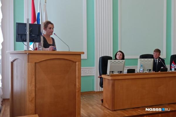Наталья Синельник пожаловалась на отсутствие коммуникаций