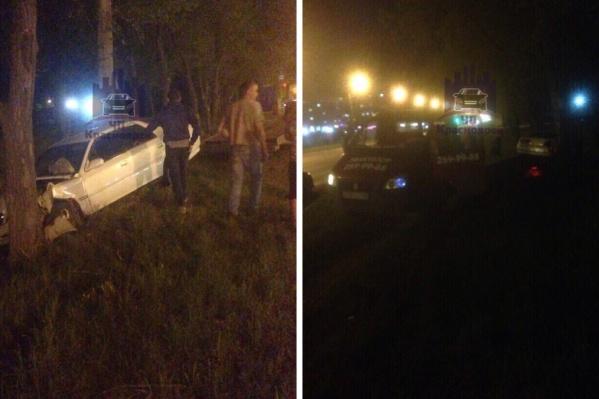 Авария прозошла поздно вечером 30 мая