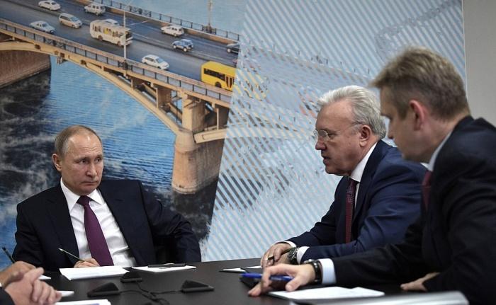 Решения принимались во время визита Путина 7 февраля