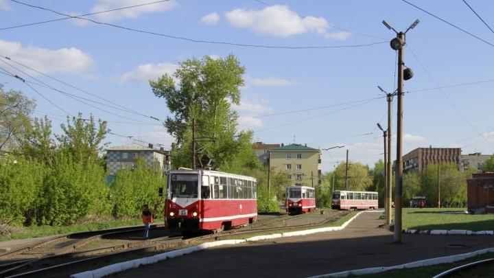 В Омске установят трамвайную остановку возле кардиологического диспансера
