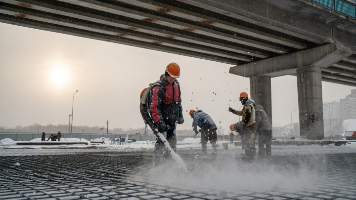 Поедем не скоро: 10 фото со стройки новой станции метро