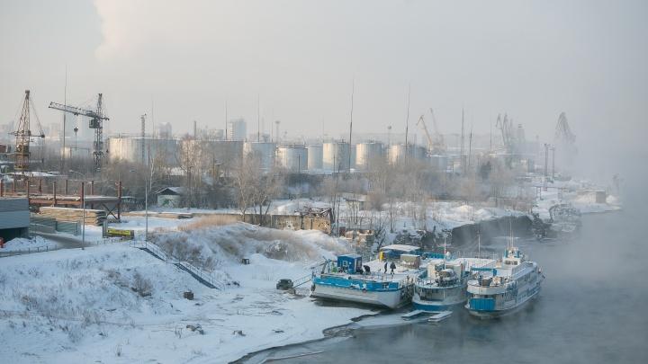 На нефтебазе задуман гигантский микрорайон. Строители жалуются на большие затраты и малую прибыль.