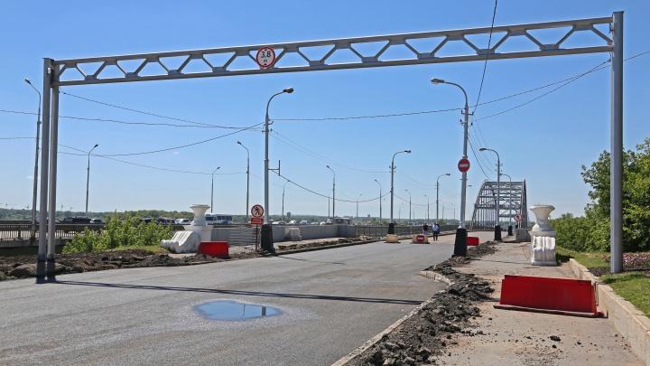 В Уфе закроют старый Бельский мост