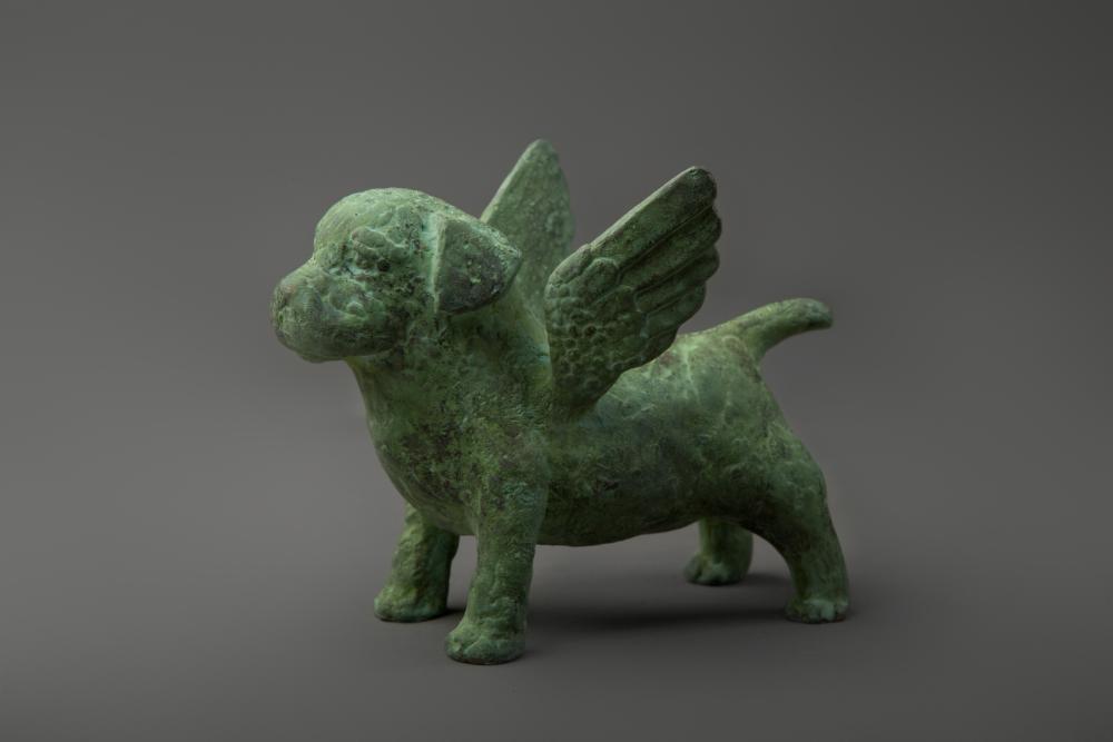 В «Небесном псе» есть что-то из скульптур Древней Месопотамии