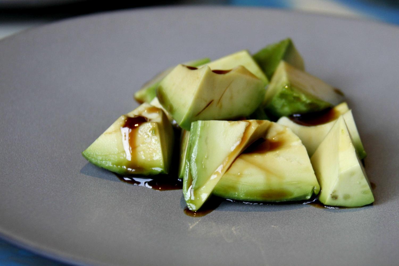 Порция авокадо с солодовым унаги за 390 рублей