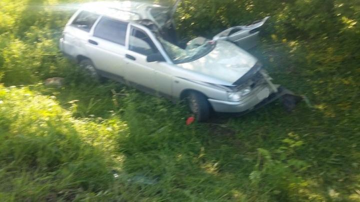 Смертельное ДТП в Башкирии: легковушка влетела в грузовик