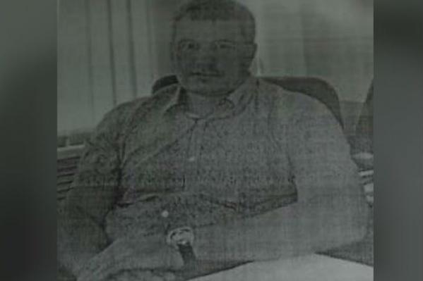 Фото с ориентировки на мужчину