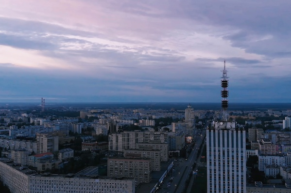 Белые ночи в Архангельске — наша достопримечательность.