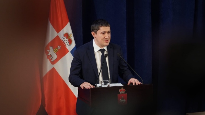 «Ну, с богом!» В Перми представили нового врио губернатора края Дмитрия Махонина