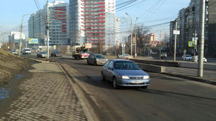 Ночью на 4 месяца перекрыли участок улицы Копылова
