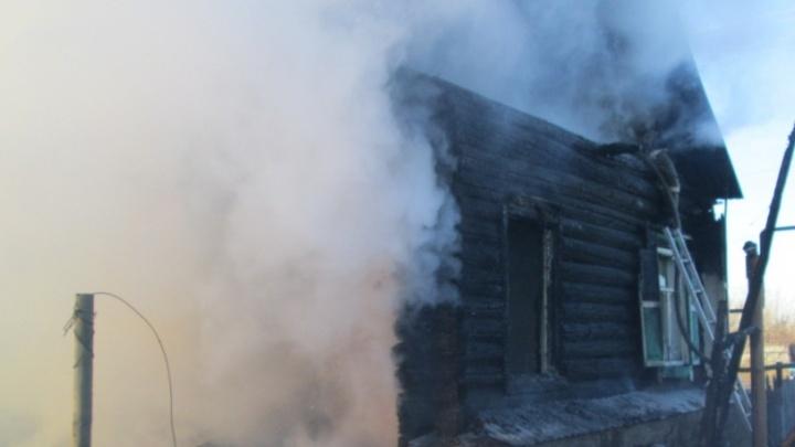 «Она уже потеряла сознание»: в Самарской области полицейский спас слепую пенсионерку из огня