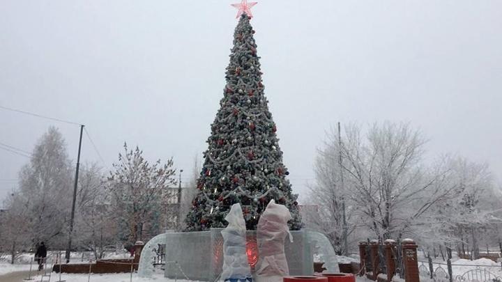 Андрей Потапов проверил, как Курган готовится к Новому году