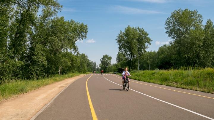 Места для ЗОЖ: где в Красноярске можно бесплатно тренироваться на свежем воздухе