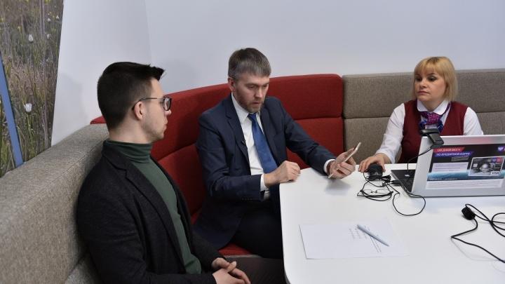 «Почта Банк» и «Ростелеком» познакомили омичей с возможностями единой биометрической системы