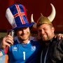Викинги и прекрасные блондинки: в Волгограде приземлился самолет с исландскими болельщиками
