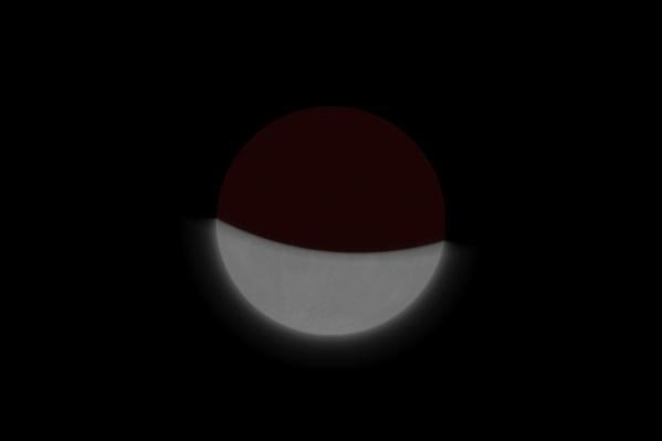 В тень уйдет больше половины Луны