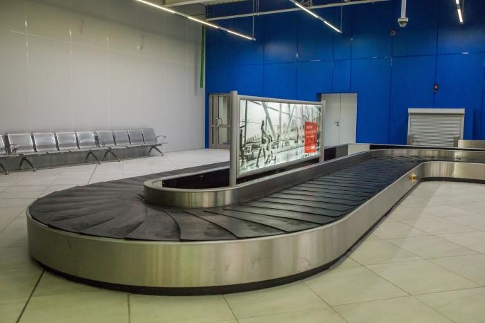 Без чемоданов остались больше десяти пассажиров рейса