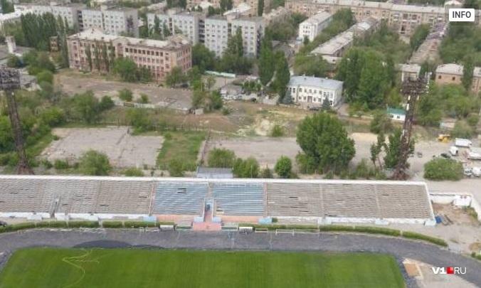 Поступило одно замечание: в Волгограде одобрили передачу стадиону «Трактор» двух спортплощадок