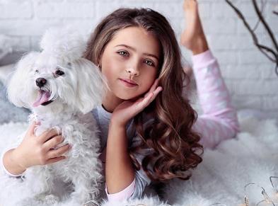Маленькая мисс поспорила, что соберёт в Instagram много лайков. Теперь мама подарит ей милого щенка