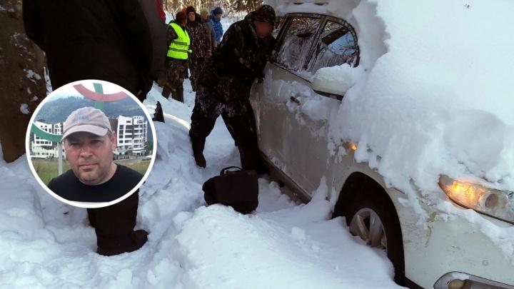В Прикамье нашли белую Toyota, которая принадлежит пропавшему пермяку