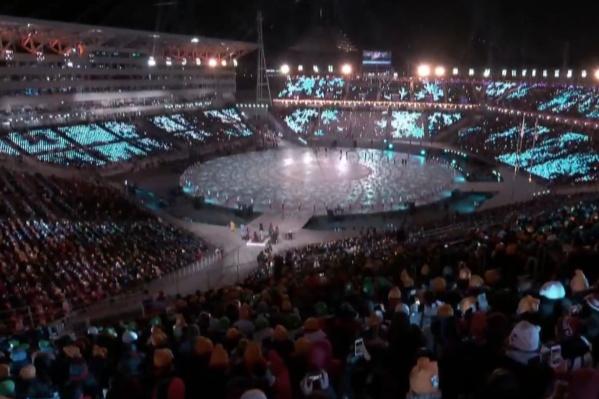 На Олимпийском стадионе в Пхёнчхане началась церемония завершения Олимпиады — 2018