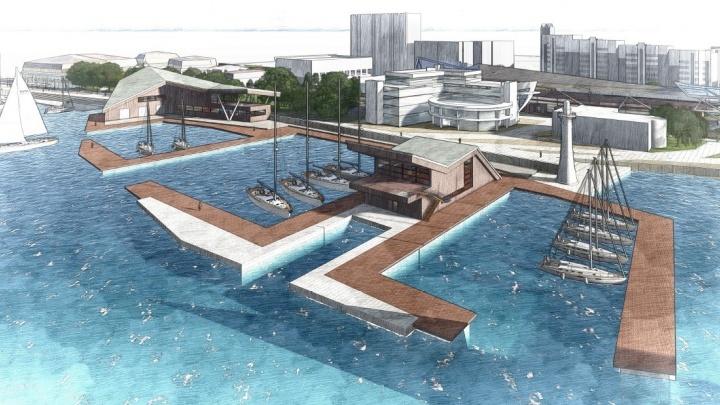 Водный каскад и галерея: на Градсовете решили, как будет выглядеть набережная Визовского пруда
