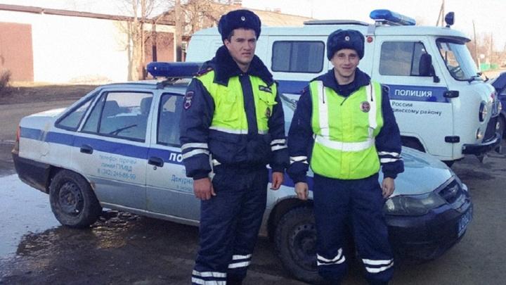 В Прикамье сотрудники ДПС случайно поймали магазинных воров