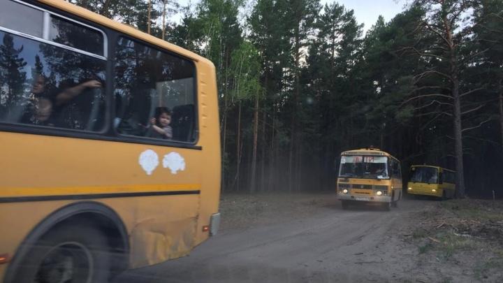 Жители села Иковка возвращаются домой